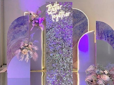 Sequin Photo Zone for any Celebrations