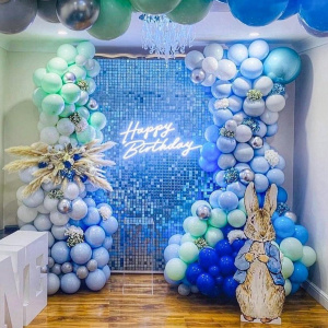 sequin photo zone for any event